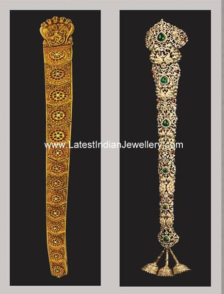 Gold and Diamond Jadanagam