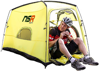 NSR Bicycle Camping Tent, Anti-Theft Design Secures and Stores Bike Inside Tent
