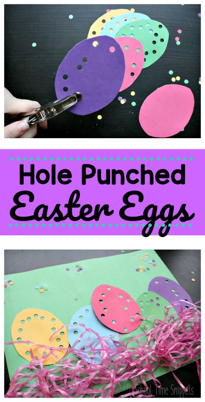 Paper egg craft for Easter