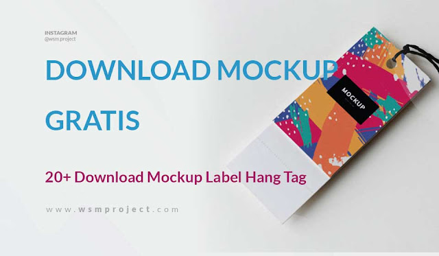Download Mockup Label Hang Tag