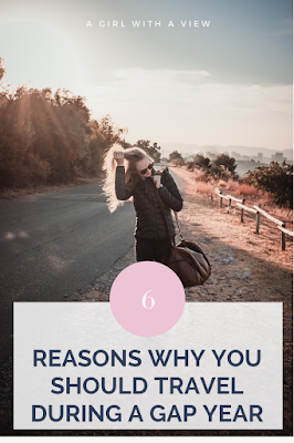 reasons why you should take a gap year to travel