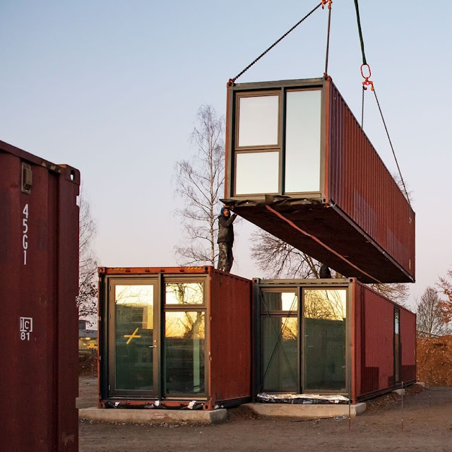 Shipping Container Tiny Homes Village, Germany 19