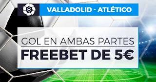 Paston promo Valladolid vs Atletico 22-5-2021