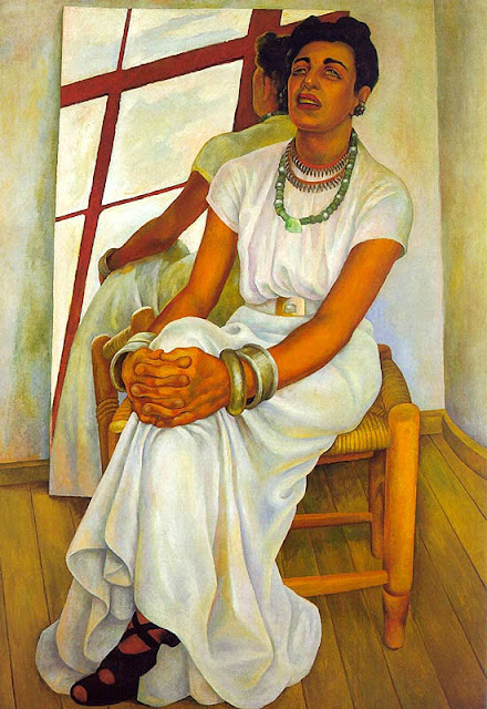 Diego Rivera - Portrait of Lupe Marin