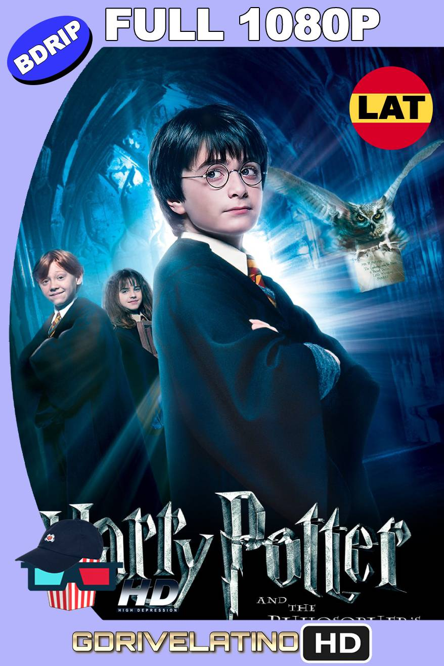 Harry Potter y la piedra filosofal (2001) BDRIP Full 1080 Latino-Ingles MKV