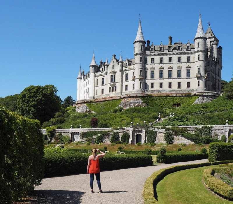 Dunrobin castle and gardens NC500
