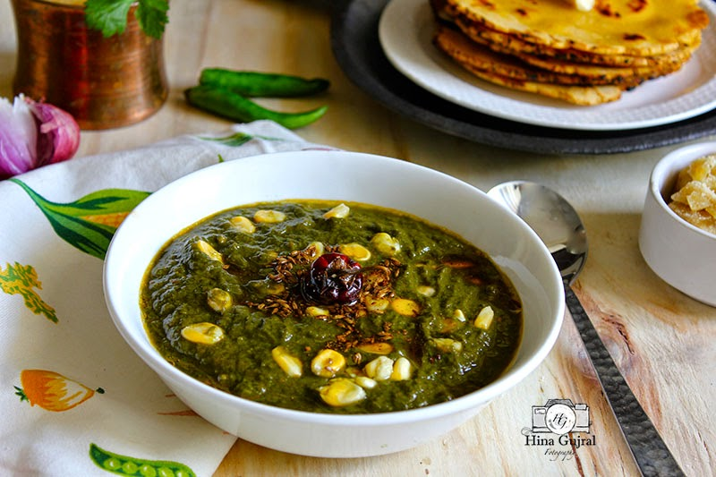 is traditional in addition to staple wintertime delicacy from the Earth of 5 rivers Punjab Sarson Ka Saag alongside Makki ki Roti
