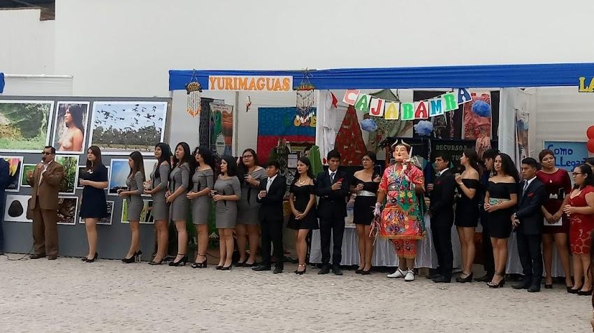 Estudiantes de la UNT realizan muestra turística sobre Cajabamba