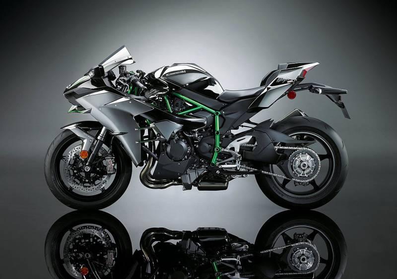 Kawasaki Ninja H2r Bike Top Speed 357 Kmh 222 Mph Vehicle