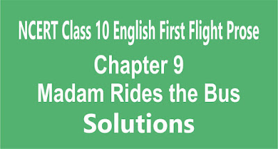 Chapter 9 Madam Rides the Bus