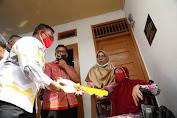 Tati Mutia Bangun Rumah Untuk Korban Kebakaran, Wali Kota Apresiasi Kepeduliannya