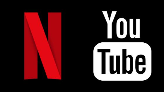 Netflix e YouTube baixam qualidade de transmissão