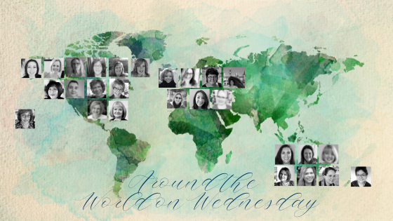 This is Us | The Around the World on Wednesday Design Team | Nature's INKspirations by Angie McKenzie