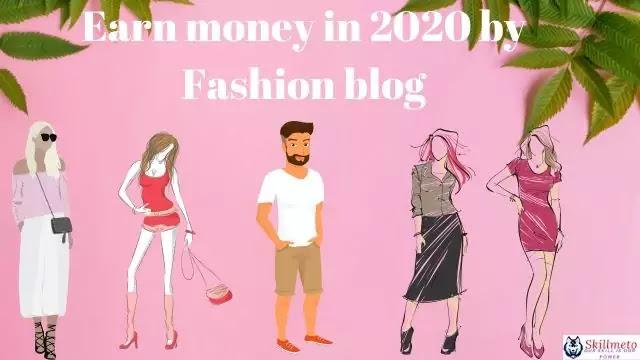 Earn money in 2020 by making Fashion website