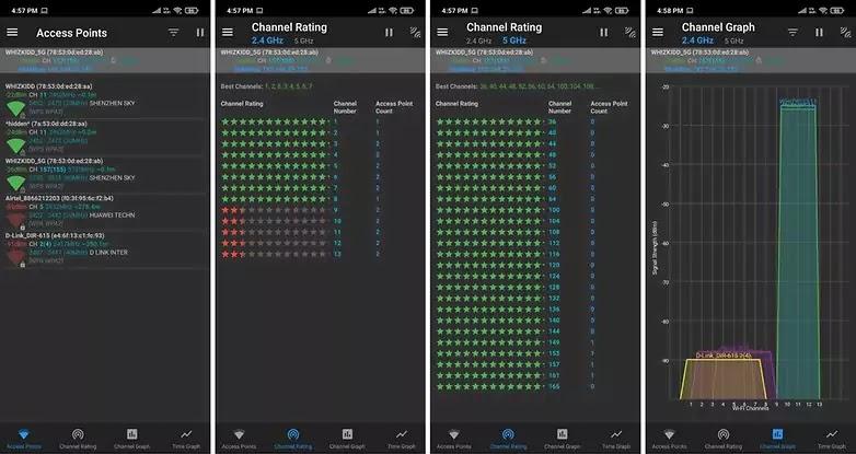 Wi-Fi Analyzer تطبيق
