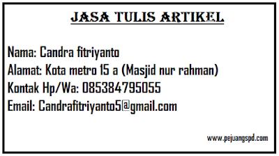 Jasa Penulis Artikel Di Kota Merto Dan Wilayah Lampung