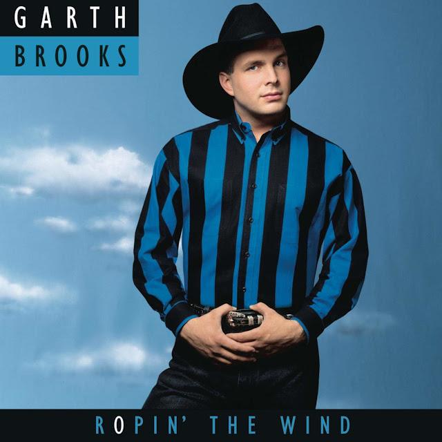 "En 1991, Garth lanzaba ""Ropin´the Wind"""