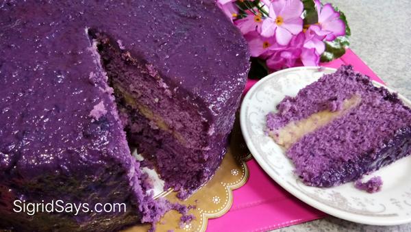 Ann Puen ube cakes - Bacolod cakes