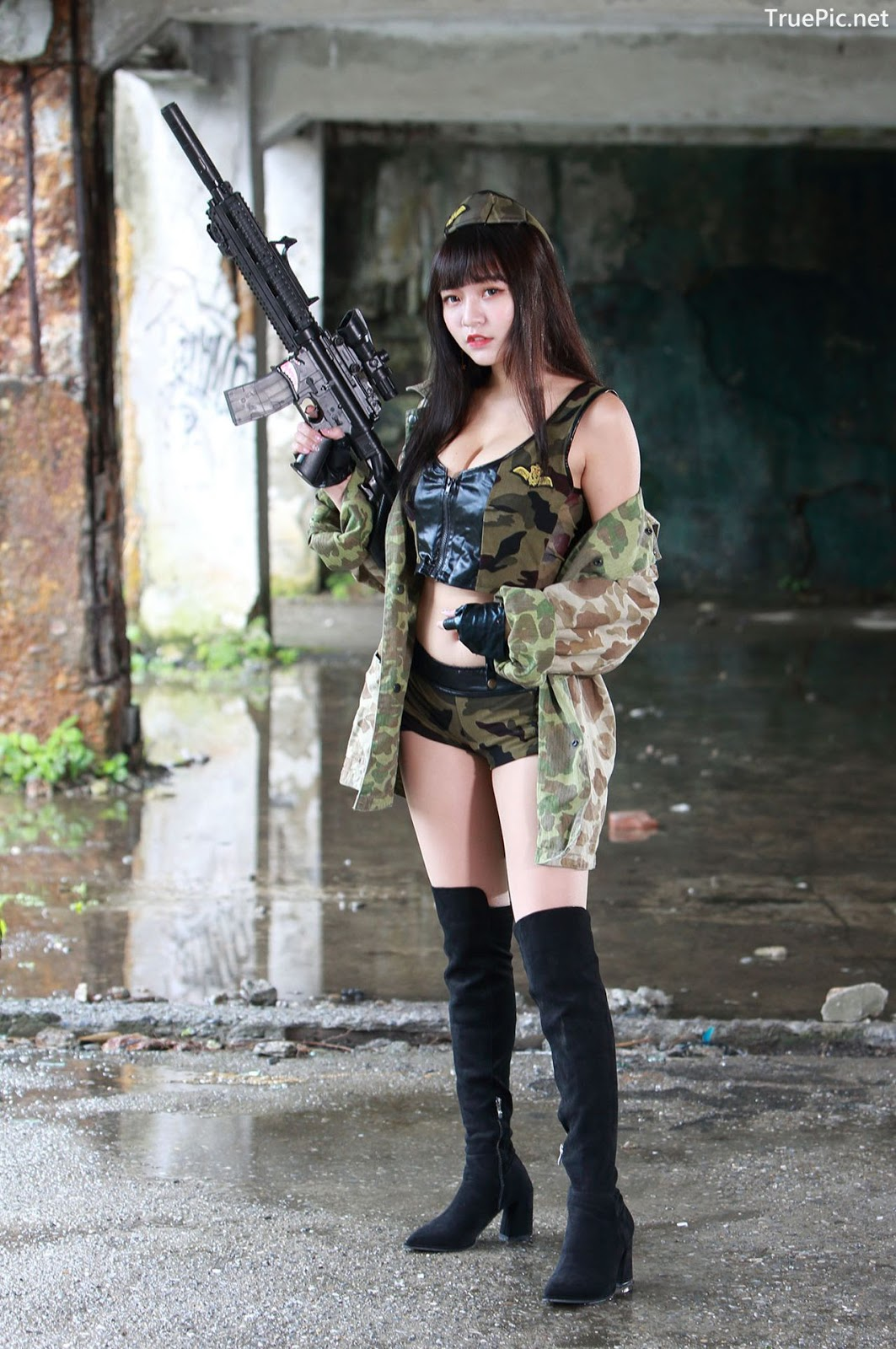 Image-Pretty-Taiwanese-Girl-林襄-Beautiful-And-Sexy-Warrior-Girl-TruePic.net- Picture-1