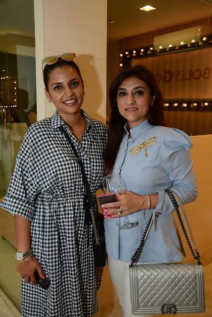 Medha Khanna with Elish W