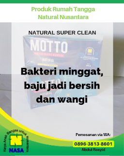 Natural Super Clean Detergent Organik 1 Pack