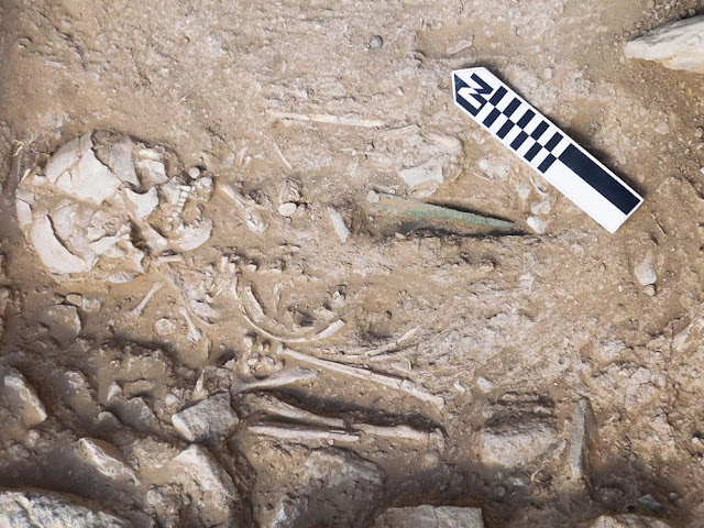 Two Middle Minoan grave sites discovered in Petras, Crete