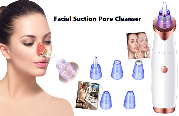 Facial Suction Pore Cleanser | Clean and Healthy Face