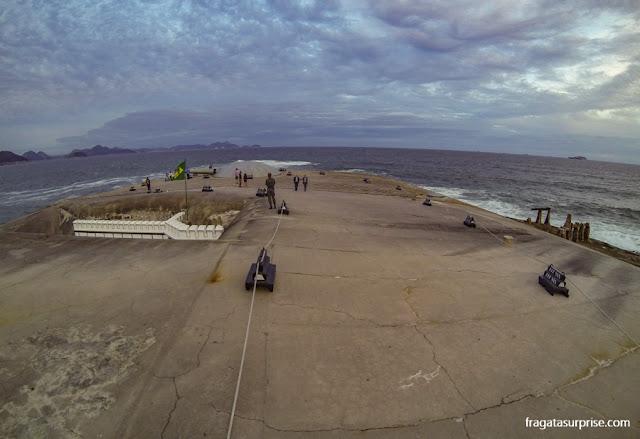 Cúpula dos Canhões do Forte de Copacabana