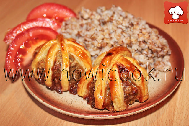 рецепт мясных котлет в тесте с фото