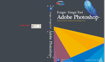 Cara Membuat Desain Cover Buku dengan CorelDRAW X4, membuat teks keren di corel