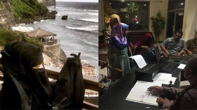 Istri Ustaz Derry Sulaiman Dipukul dan Ditendang di Bypass Bali