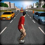 Street Skater 3D Mod Apk Terbaru v1.1 100% Seru!!!
