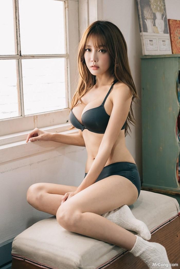 Image Korean-Model-Yoon-Ae-Ji-MrCong.com-014 in post Người đẹp Yoon Ae Ji trong bộ ảnh nội y tháng 10/2017 (262 ảnh)