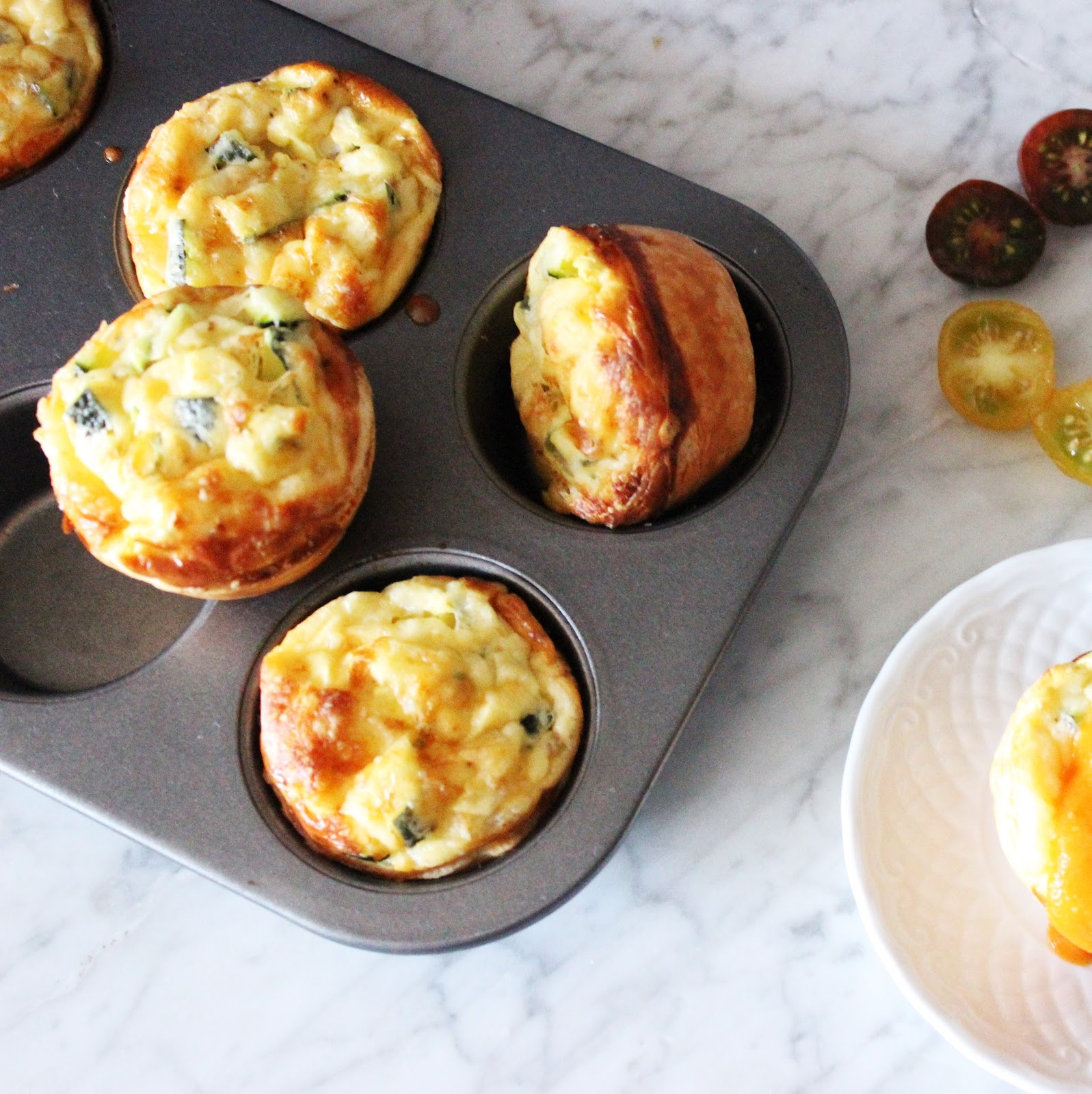 MINI QUICHES DE CALABACÍN