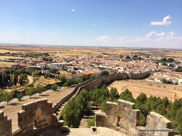 visitar el castillo de Belmonte en Cuenca