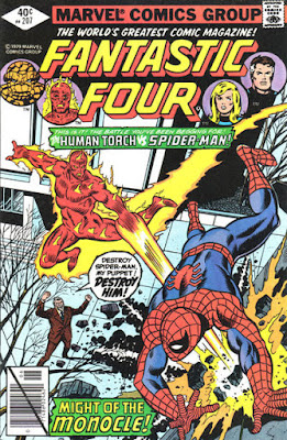Fantastic Four #207, Spider-Man