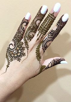 mehendi designs arabic simple