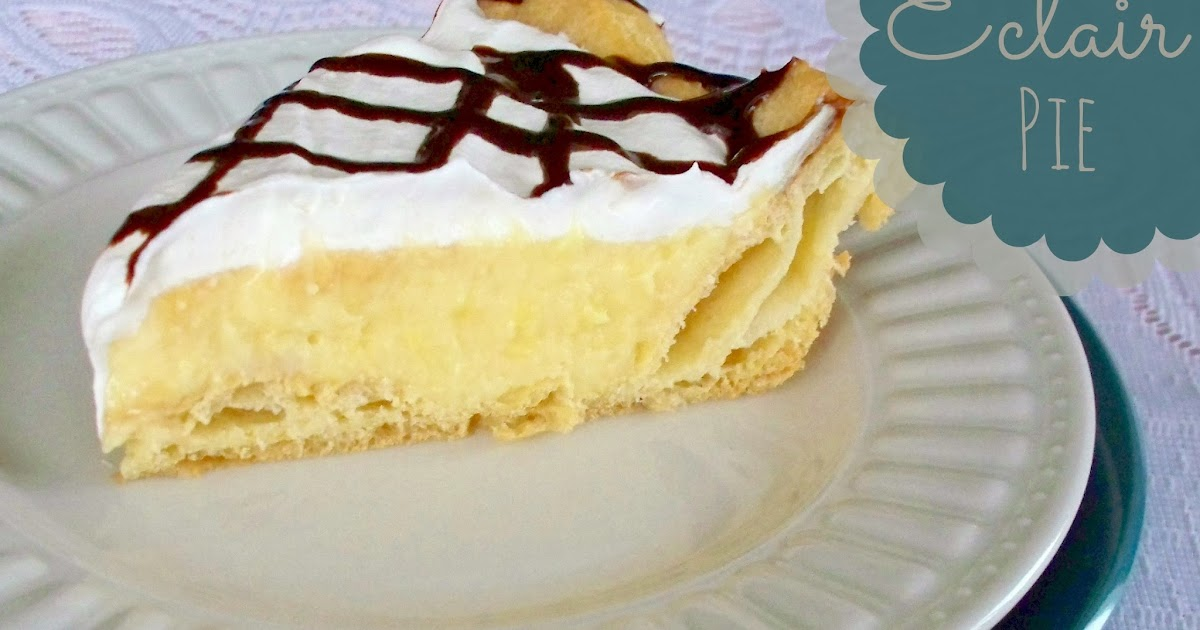 Eclair Pie Recipe Adventures Of A Diy Mom