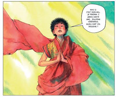 Le sixième Dalaï-Lama - tome 2 - des illustrations sublimes et colorées