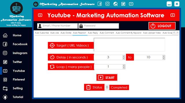 Cara Cepat Kirim Interaksi di Video Youtube Secara Automatis