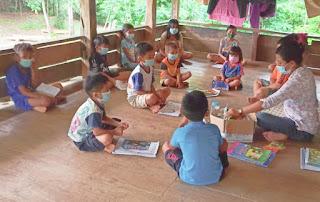 Semangat Belajar dari Pelosok Tana Toraja di Tengah Pandemi Covid-19