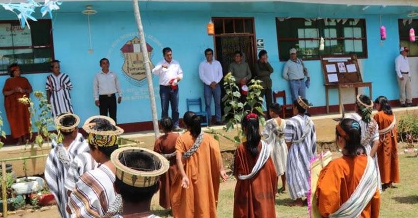 Construyen colegio intercultural bilingüe Asháninka Machiguenga en distrito de Kimbiri, provincia de La Convención - Cusco