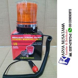 Jual Lampu 9x Flash Warning Light Strobo 24V Magnet di Purwokerto