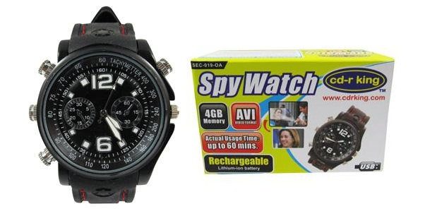 CD-R KING SPY WATCH SEC-019-OA