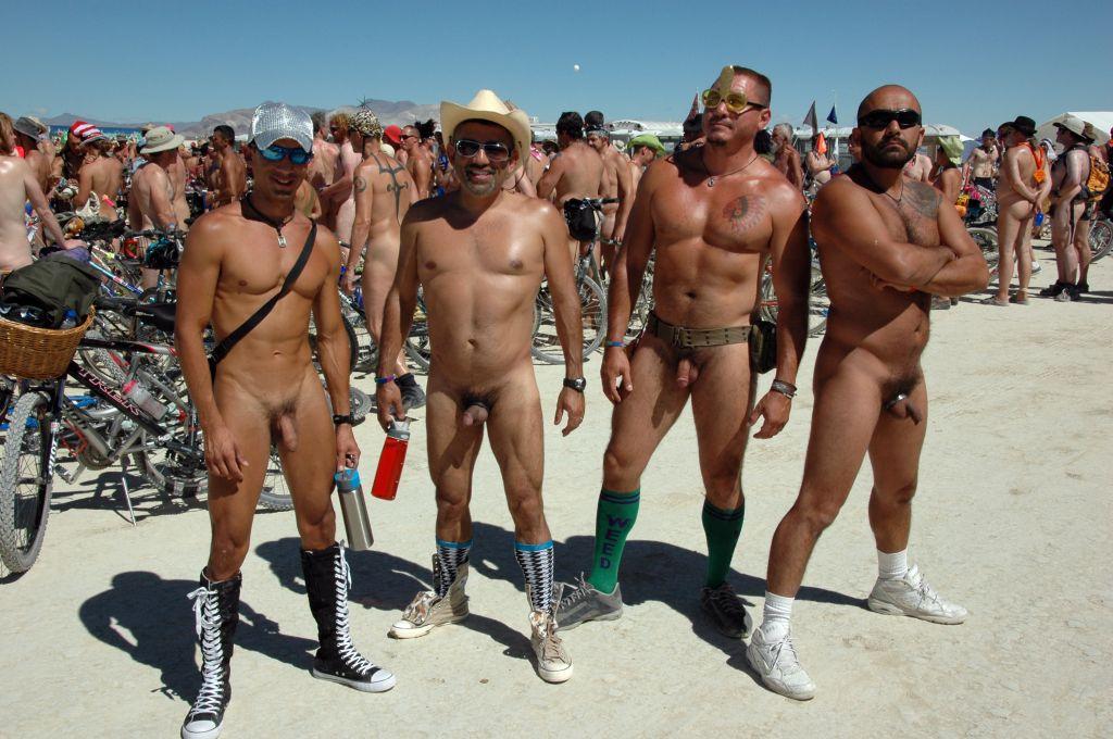 Naked Burning Man Pictures