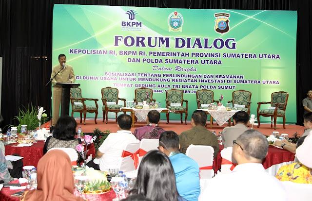 Gubsu Ajak Bupati dan Walikota Dukung Investasi dengan Pelayanan Terbaik