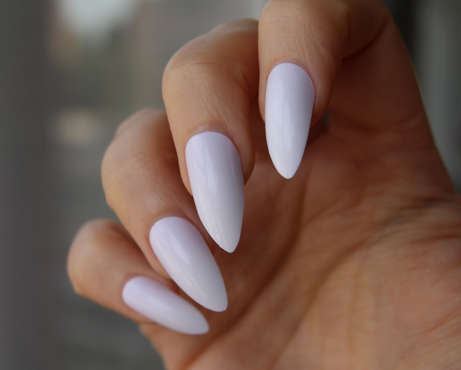 The Shape Is Clic Stiletto Hte Point Not As Sharp Some Other Nails And I Think It Makes Them More Elegant Easy To Wear