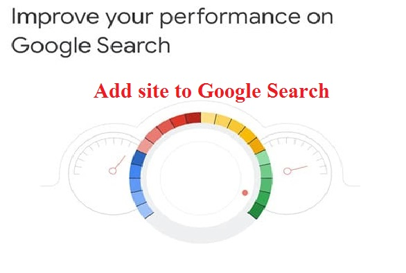 Add site to Google Search
