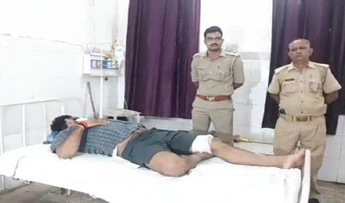 चंदौली जिले में एक रात में 3 एनकाउंटर से मची सनसनी, 4 बदमाशों को लगी गोली, एक पुलिसकर्मी भी घायल