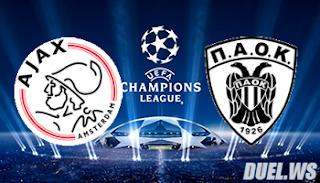 ПАОК – Аякс  смотреть онлайн бесплатно 6 августа 2019 прямая трансляция в 20:00 МСК.